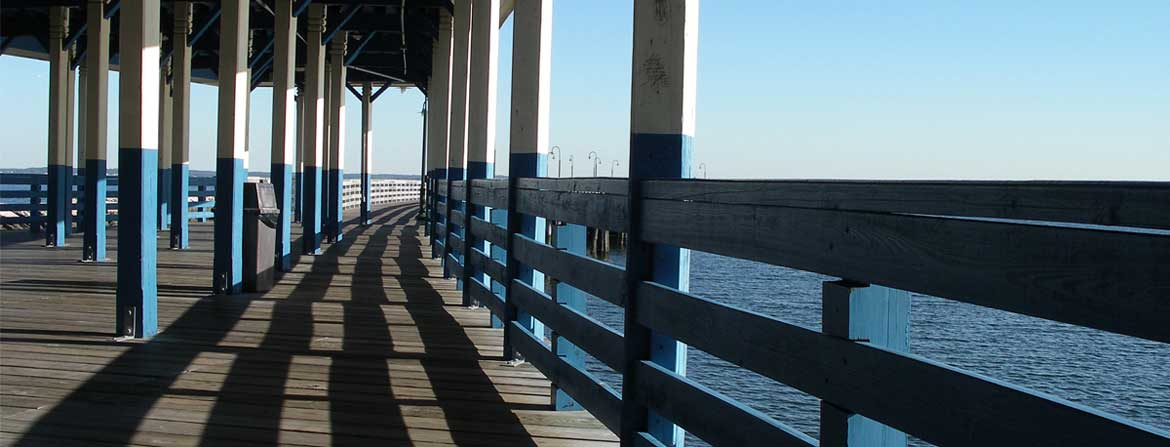 Pier at Rye Playland