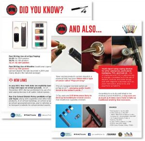 Vaping Did You Know? Fact Sheet