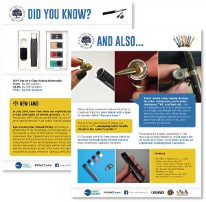 Vaping Did You Know? Fact Sheet #2